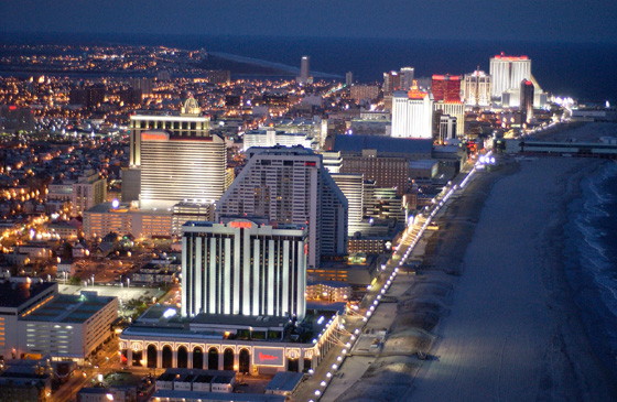 Atlantic City Aerial View