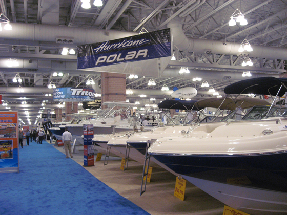 Boat Show at the Convention Center