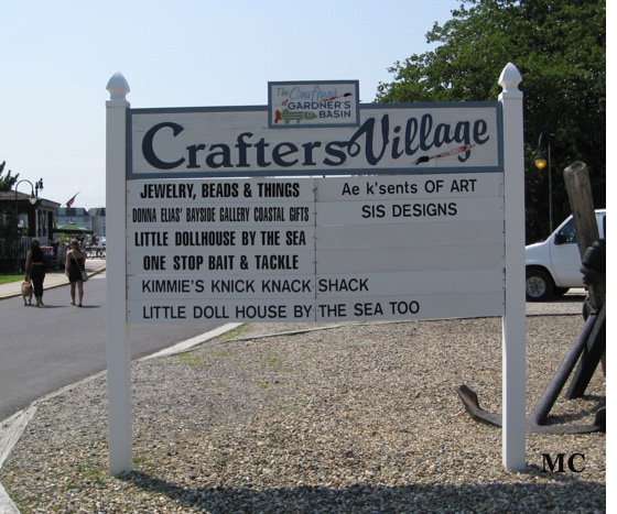 Crafters Village Sign