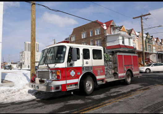 atlantic City Fire Truck