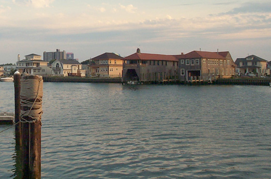 Houses at Gardner's Basin