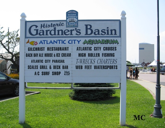 Gardner's Basin Sign