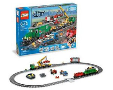 Lego City Cargo Train Deluxe Set