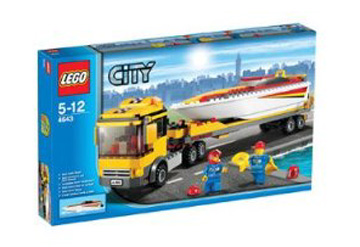 Lego City Boat Transporter