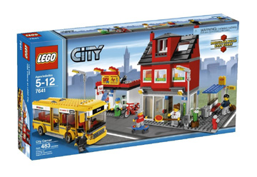 Lego City Corner Set