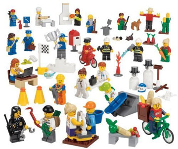 Lego Community Minature Sigure Set