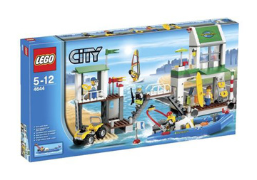 Lego City Harbour Marina