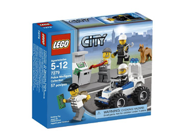 Lego City Police Minifigure Collection