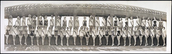 1953 Miss America Swimsuit Competition