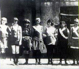 Miss America Contestants 1921
