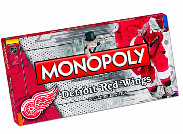 Monopoly Detroit Red Wings