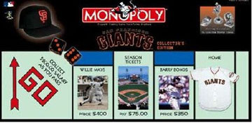 San Francisco Giants Monopoly