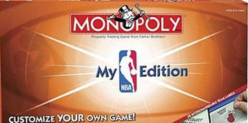 MY NBA Monopoly
