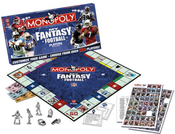 My NFL Fantasy Football Monopoly