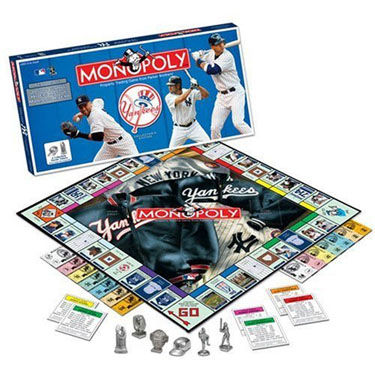 New York Yankees Monopoly