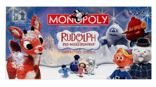 Rudolph the Red Nosed Reindeer Monopoly