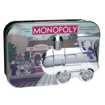Collectors Embossed Tin Monopoly
