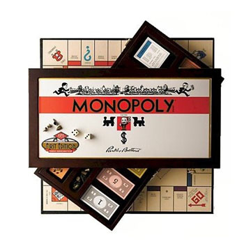 Real Wood Monopoly