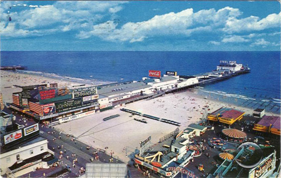 Steel Pier Atlantic City - 1957
