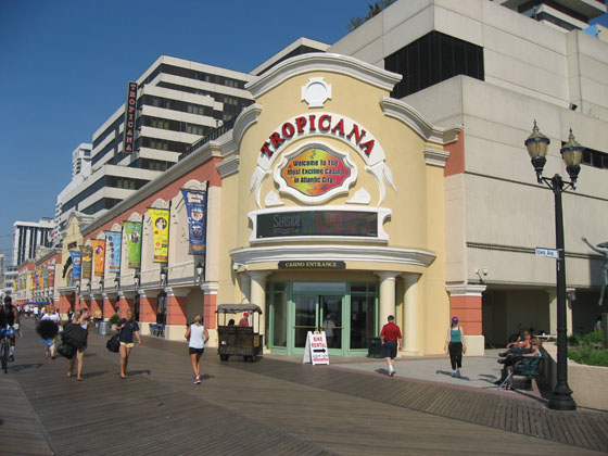 R J Tours Tropicana Hotel Atlantic City Nj
