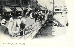 Early Atlantic City Boardwalk
