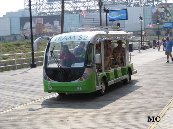Atlantic City Boardwalk Tram