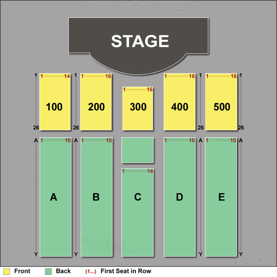 Borgata Events Center Seating