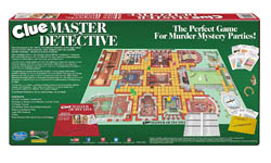 Master Detective Clue Game