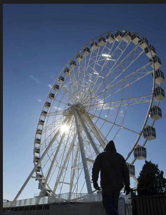 New Steel Pier Observation Wheel