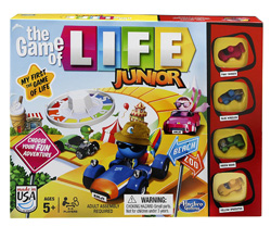The Game of Life Electronic Junior Game