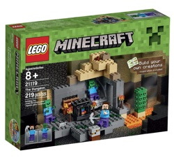 Lego Minecraft Dungeon Building Kit