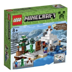 Lego Minecraft Snow Hideout Building Kit