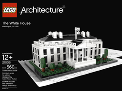 Lego Arcitecture White House