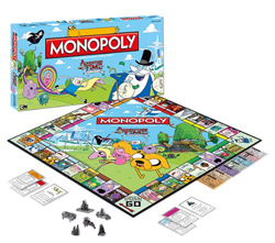 Adventure Time Monopol Board Game