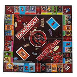 Marvel Deadpool Monopoly