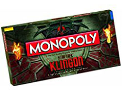 Klingon Monopoly Collectors Edition