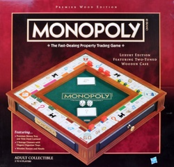 Monopoly Premier Wood Edition