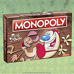Monopoly Ren & Stimpy Board Game