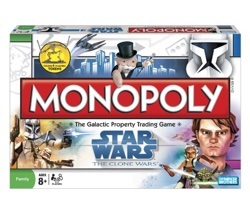 Star Wars Clones Monopoly
