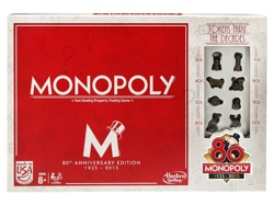 80th Anniversary Monopoly