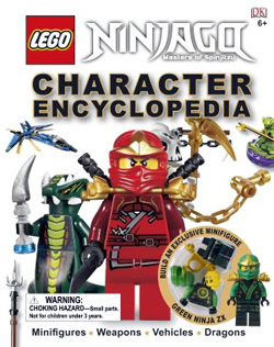 Book - Lego Ninjago Character Encyclopedia
