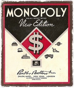 Parker Brothers Monopoly Game