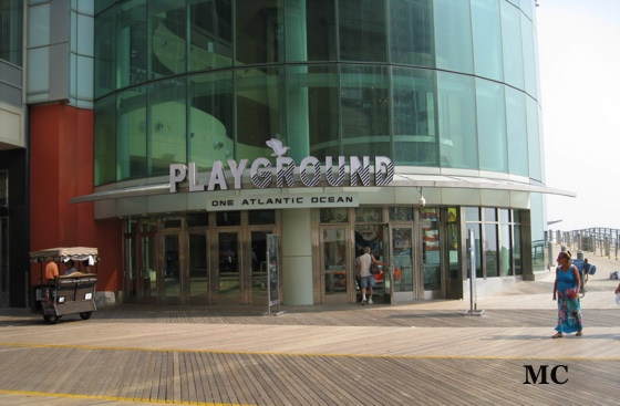 Atlantic City Boardwalk  Playground Entrance