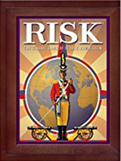 Risk in Vintage Wood Book Edition