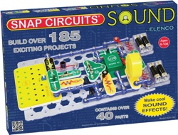 Snap Circuits Sound Elactronics Discovery Kit